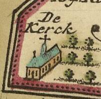 De kerk(schuur) uit 1697