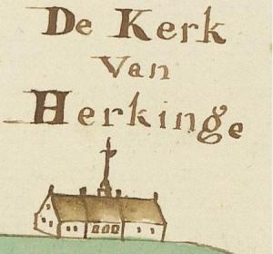 De kerk(schuur) uit 1775